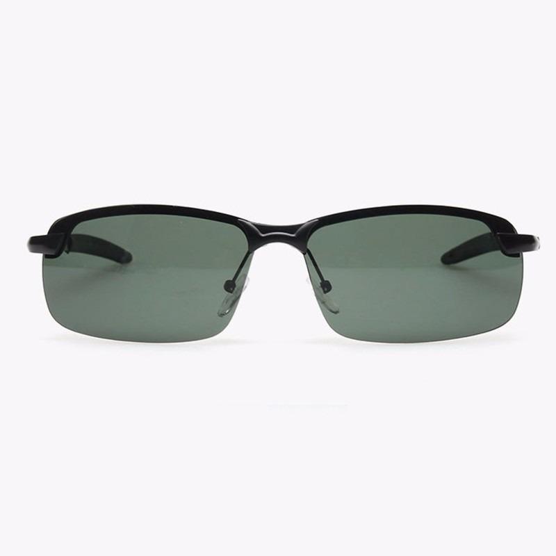 óculos sol masculino esporte lentes cor verde polarizado u v. Carregando  zoom. e177798167
