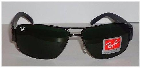 Óculos Sol Masculino Feminino Demolidor Rb3312 3312 Verde  3 - R ... b80c823a22
