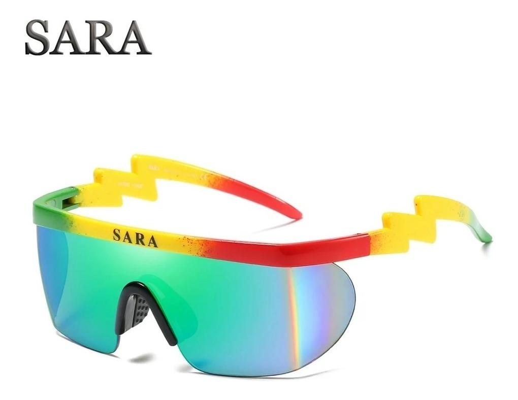 7e6c2766d27afd óculos sol masculino grande espelhado máscara novo orig sara. Carregando  zoom.