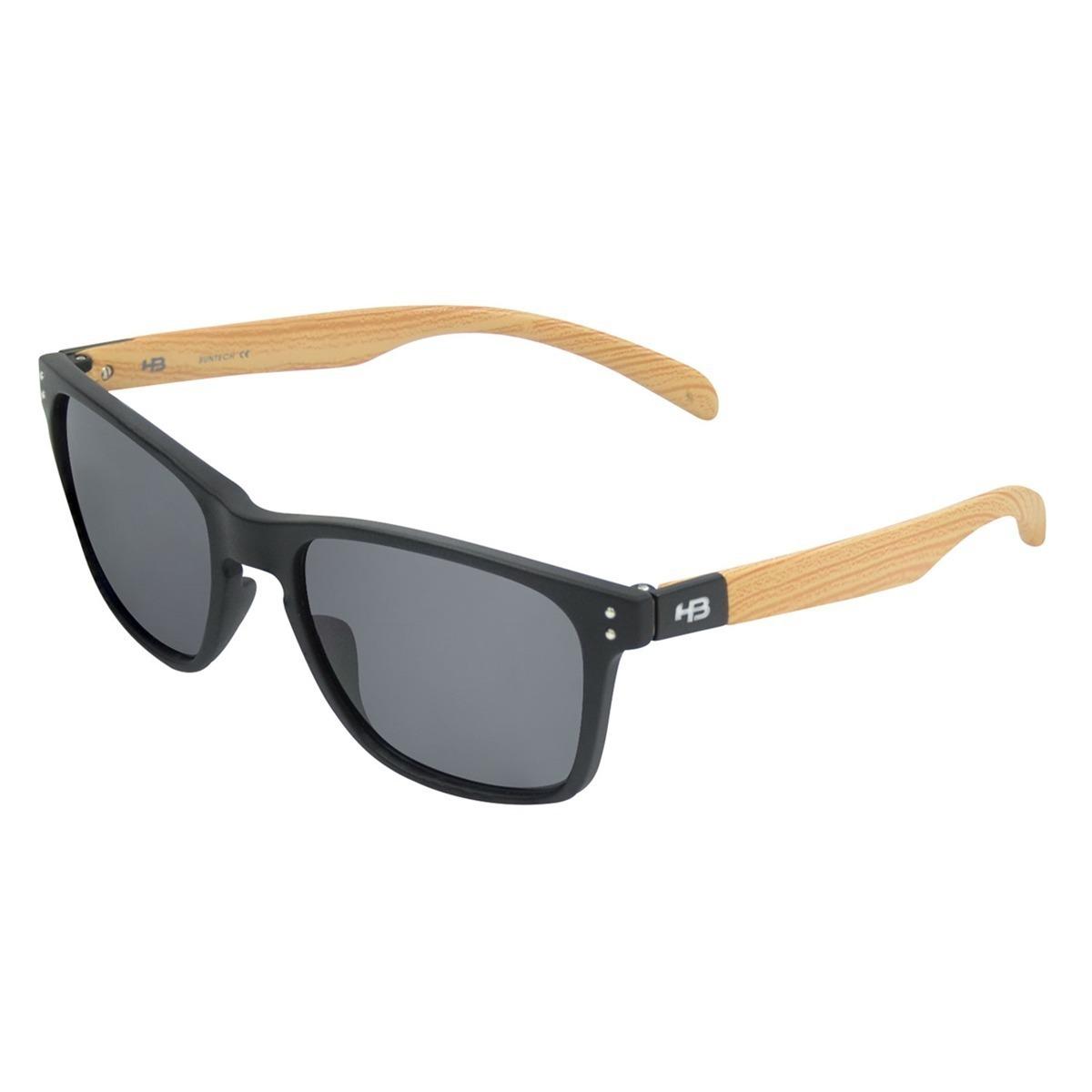 464c6fd3d9288 oculos sol masculino hb gipps 2.0 fosco madeira original. Carregando zoom.