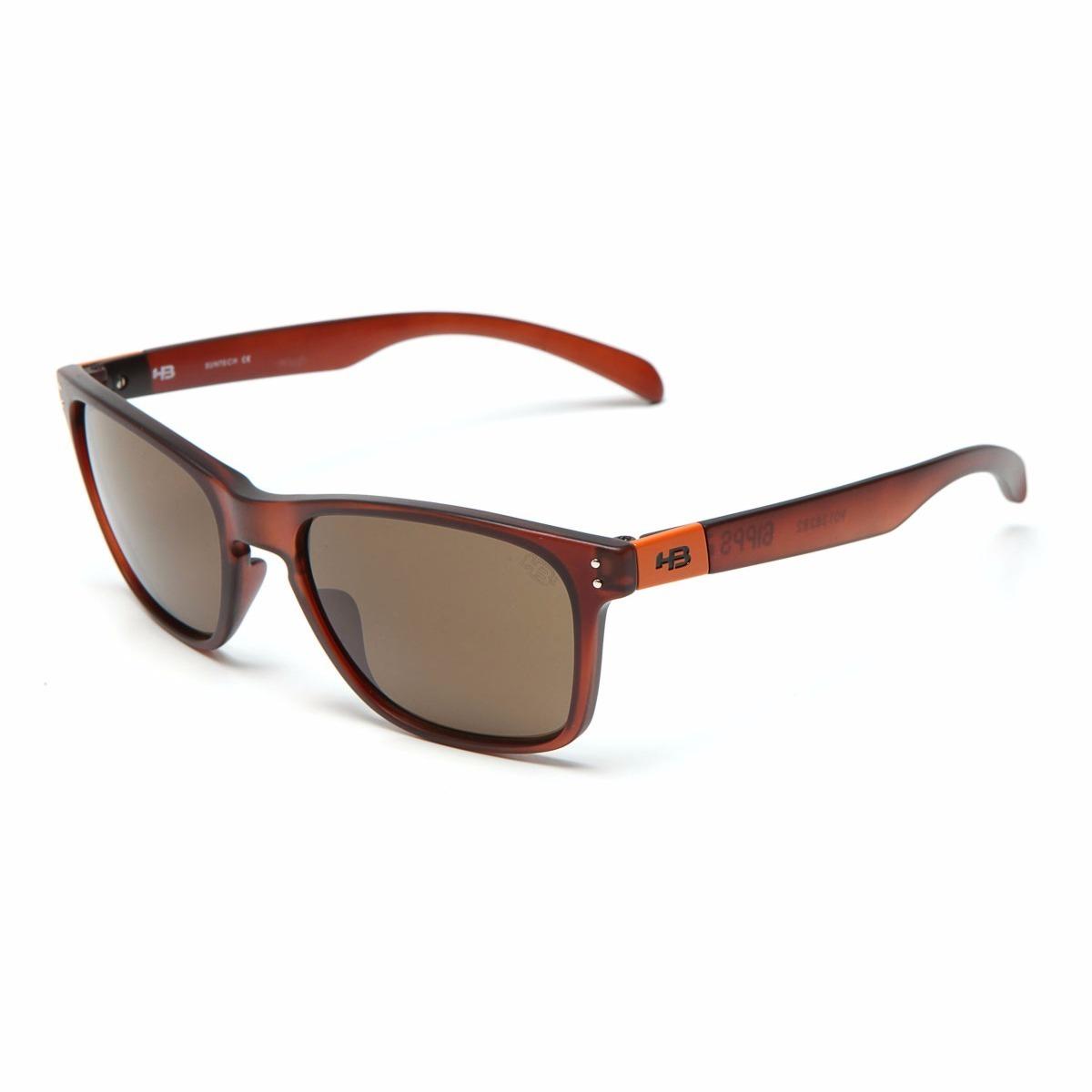 oculos sol masculino hb gipps 2.0 verão marrom original. Carregando zoom. adab9ff39c