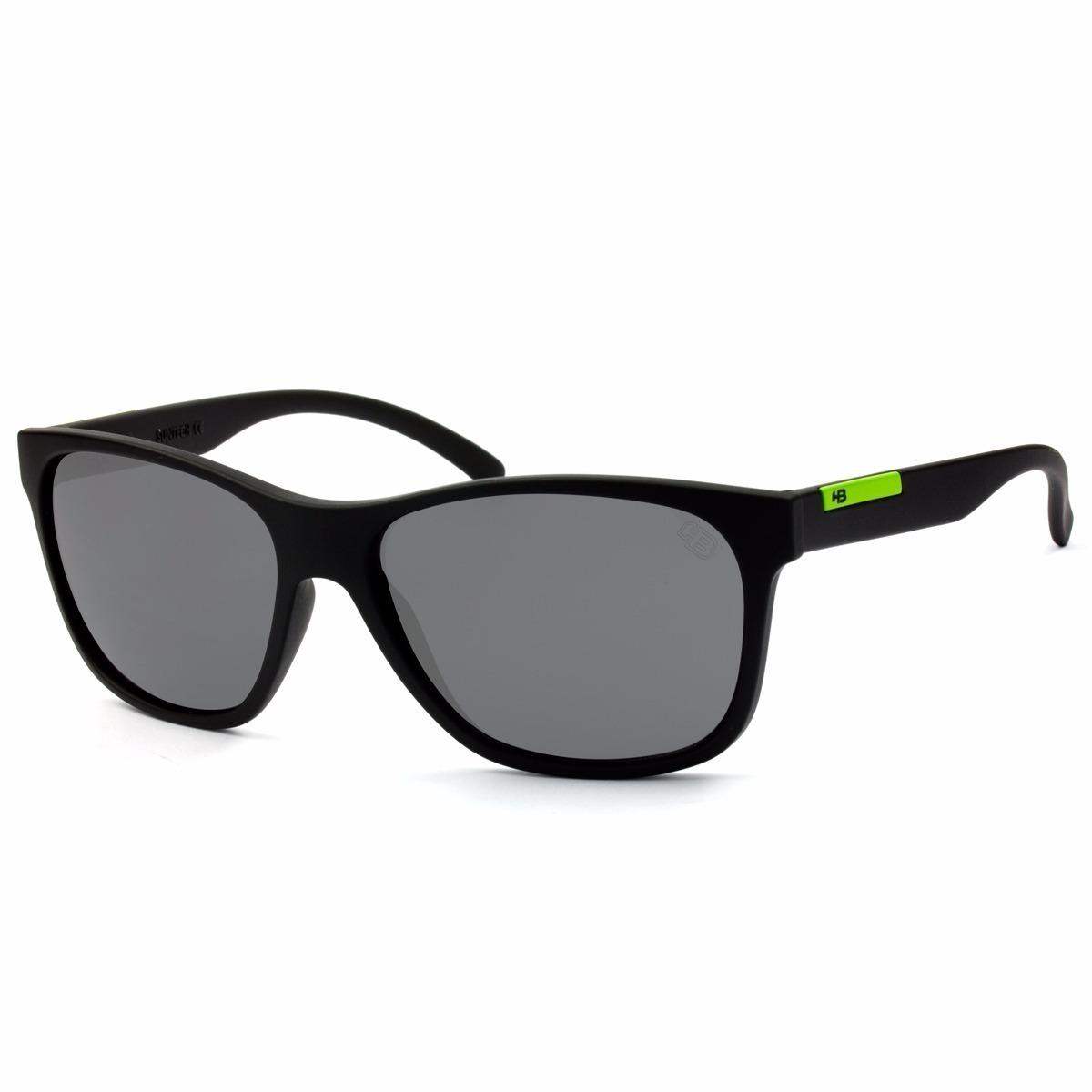 oculos sol masculino hb underground original preto verde. Carregando zoom. 30d5b14327