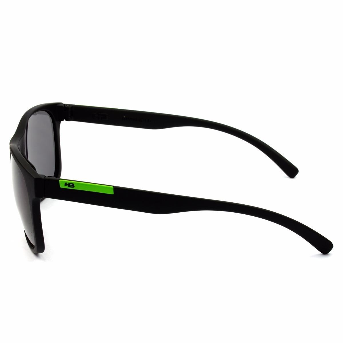 oculos sol masculino hb underground original preto verde. Carregando zoom. b6052d1b8d