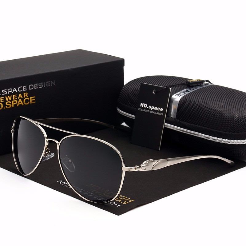 24056eedeb387 óculos sol masculino hd space uv400 lente polarizada- fumê §. Carregando  zoom.