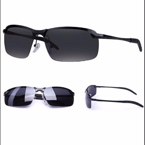 d872eb618 Óculos Sol Masculino Lentes Marrom Ou Fumê Polarizada Barato - R ...