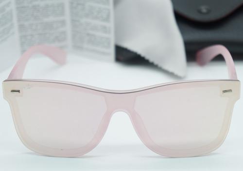 Óculos Sol Masculino Quadrad Estilo Justin Blazer Rosa Rose - R  43,50 em  Mercado Livre 890000bb2d