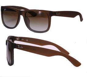 82d2620ae Oculos Masculino Rayban Quadrado Ray Ban Justin - Óculos no Mercado ...