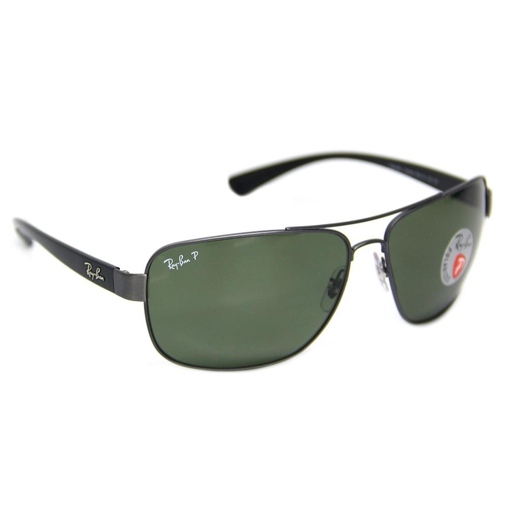 4bea6ad53979c óculos sol masculino ray-ban rb 3567 polarizado. Carregando zoom.