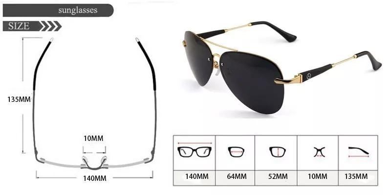 73a38541a2244 óculos sol mercedes- benz lentes polarizadas uv400- original. Carregando  zoom.