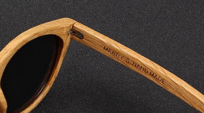 7c4e5119ad18f óculos sol merrys original madeira polarizado uv lentemarrom. Carregando  zoom.