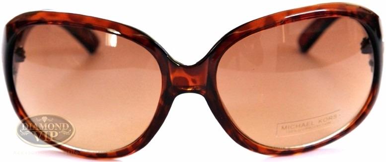 Original Óculos De Sol Feminino Michael Kors Marrom Mk Novo - R ... 059f7d812d
