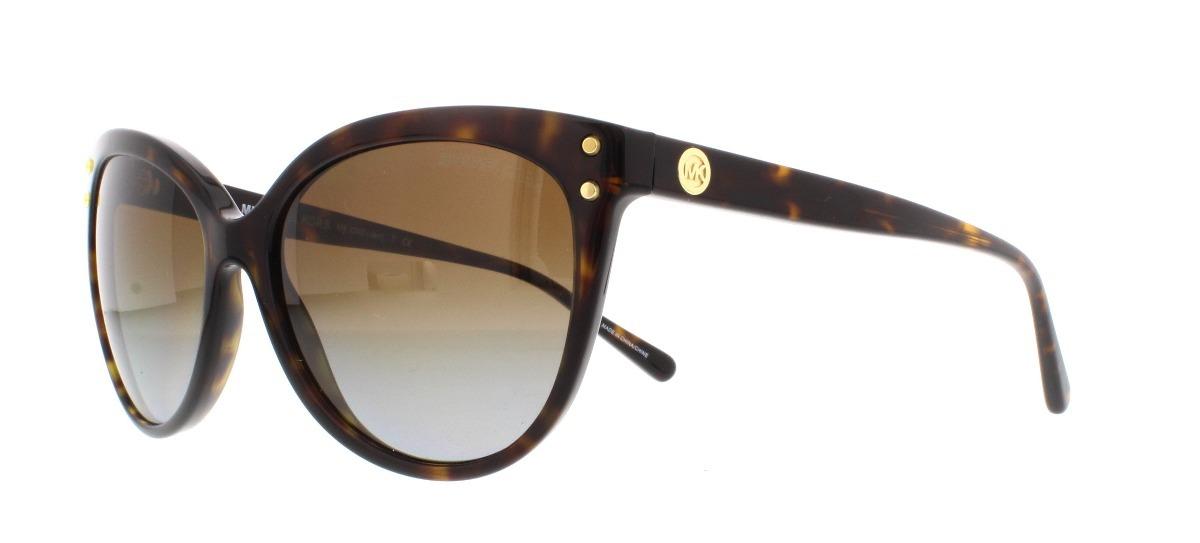 5bcadbf471224 Óculos De Sol Feminino Michael Kors Mk2045 Jan - R  359