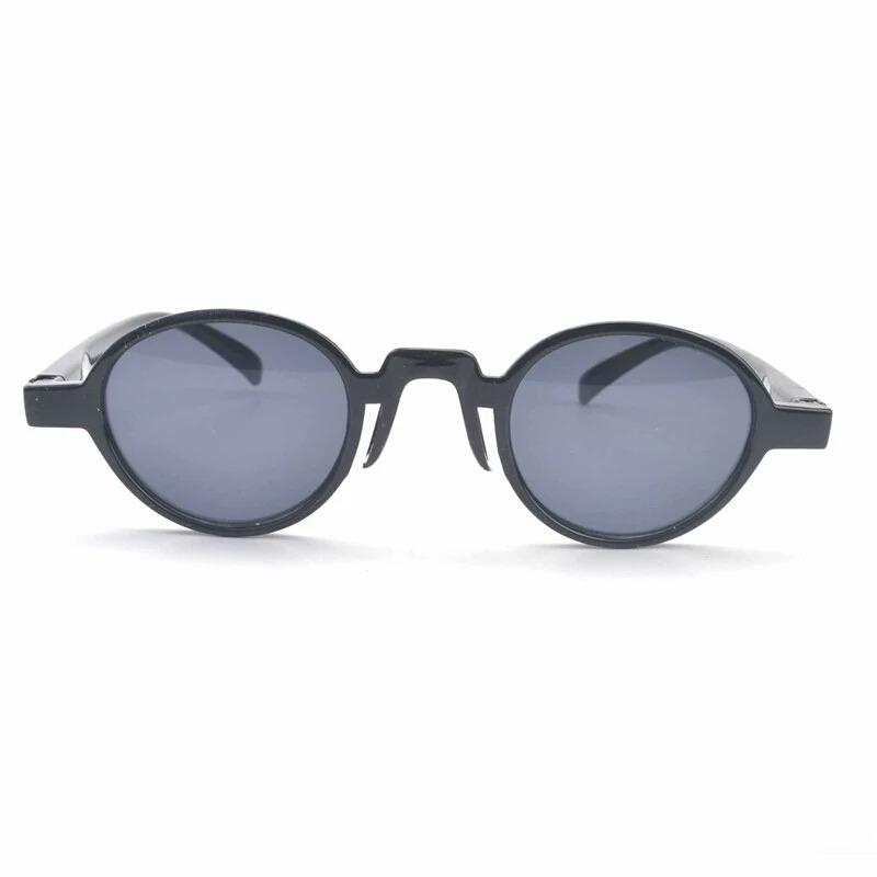 9ed89faf38af0 Óculos Sol Mini Redondo Preto Lentes Uv400 Estilo Jorge Ben - R  99 ...
