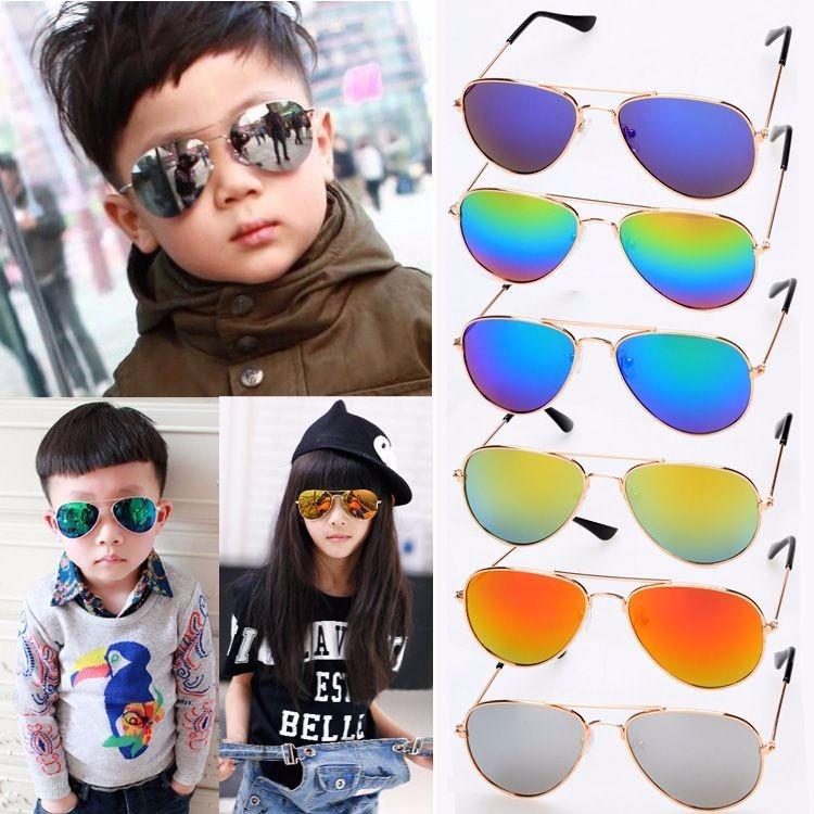 53818fc90 Óculos Sol Modelo Aviador Infantil Amarelo Espelhado Criança - R$ 31,00 em Mercado  Livre