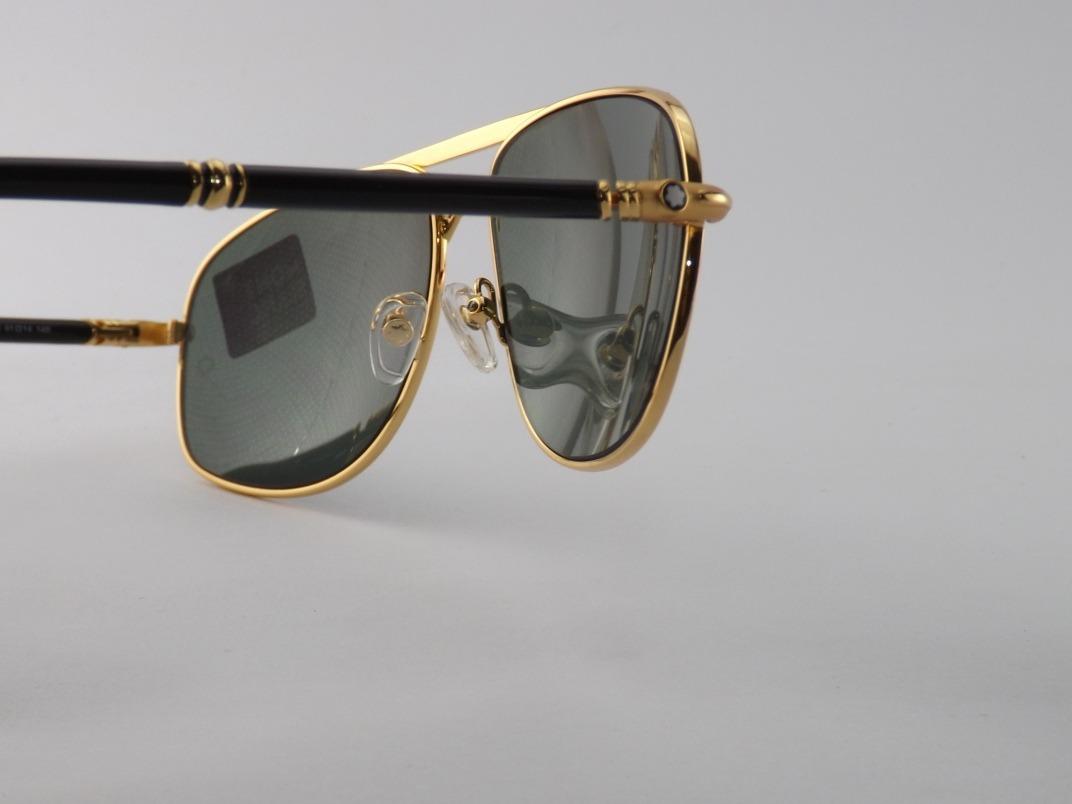 a57a3063b68b3 ... 513s dourado lançamento. Carregando zoom... óculos sol mont blanc.  Carregando zoom.