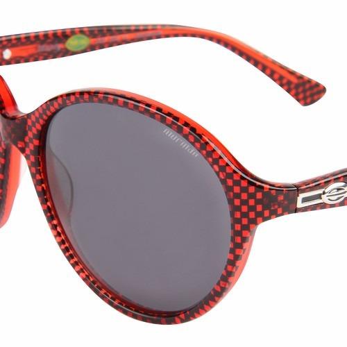 1249505b3acb2 Óculos De Sol Mormaii Feminino Manly - Preto   Vermelho - R  229