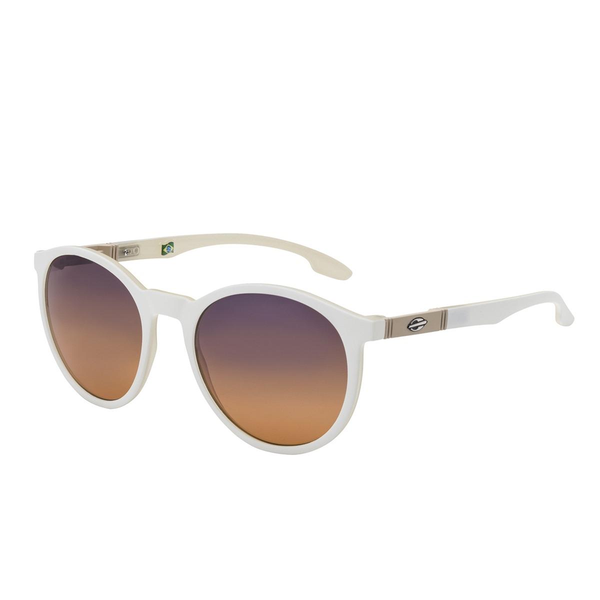 Óculos De Sol Maui Branco E Nude Fosco Mormaii - R  249,00 em ... f504398cc2