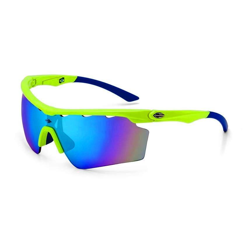 6057868843eee Carregando zoom... sol mormaii óculos. Carregando zoom... óculos sol solar  mormaii athlon 5 amarelo azul ciclismo v 4