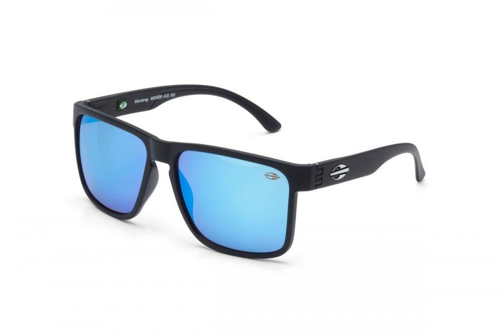 388ec779cdf35 oculos de sol mormaii monterey fosco preto azul. Carregando zoom.