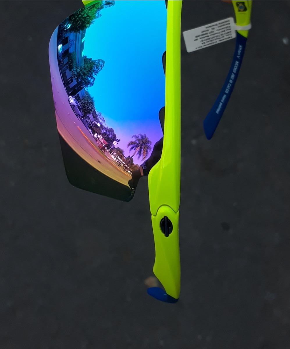 f0cbeb079a4e5 óculos sol solar mormaii athlon 5 amarelo azul ciclismo v 4. Carregando  zoom... óculos sol mormaii. Carregando zoom.
