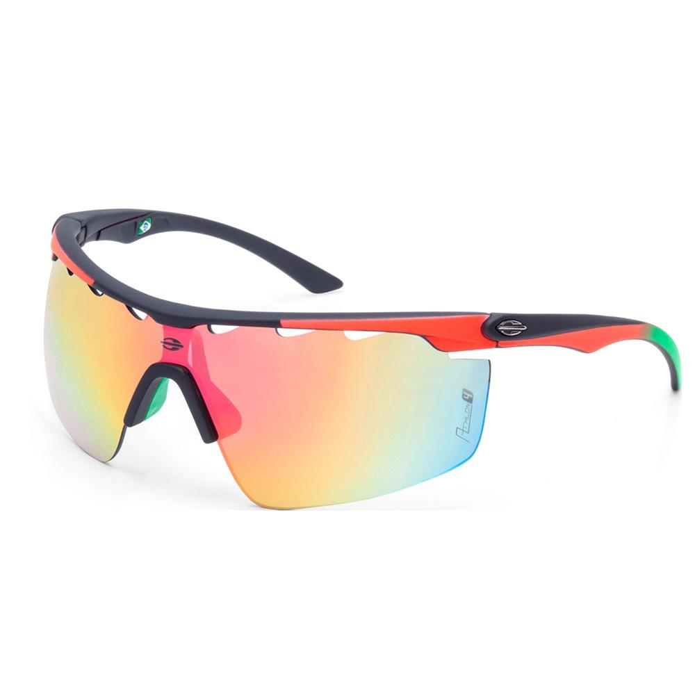 Óculos Sol Mormaii Athlon 4 Preto Emborrachado Vermelho - R  299,00 ... 0e561329b7