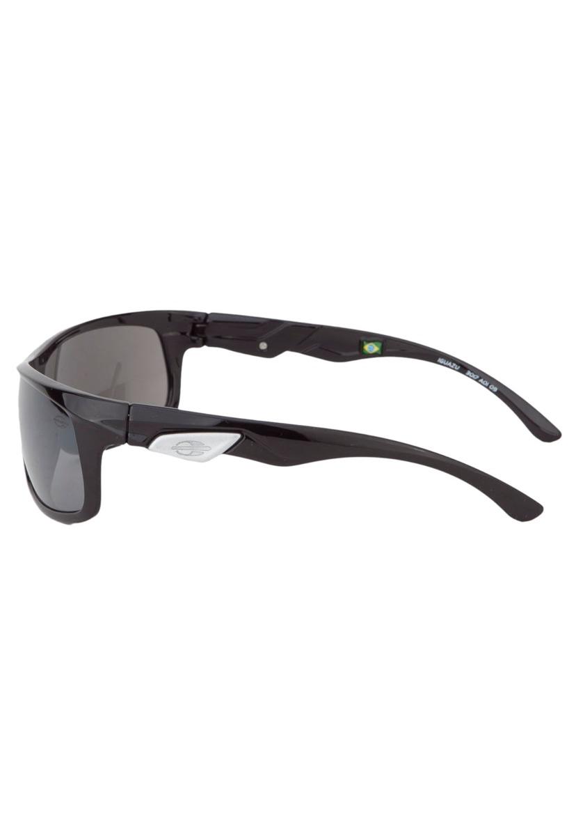 Óculos De Sol Mormaii - Preto Brilho Lente Cinza Show - R  150,00 em ... a6d5417563