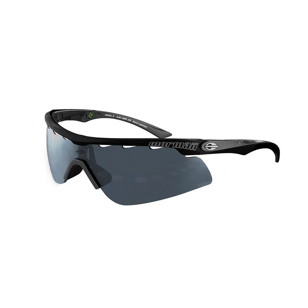 ac2d4896a Óculos De Sol Mormaii Preto Athlon 2 Ii 440 289 09 Esportivo - R ...