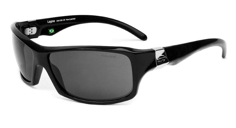 165b5e910ce3d Oculos De Sol Mormaii Lagoa 34421003 Lente Cinza Polarizada - R  199 ...
