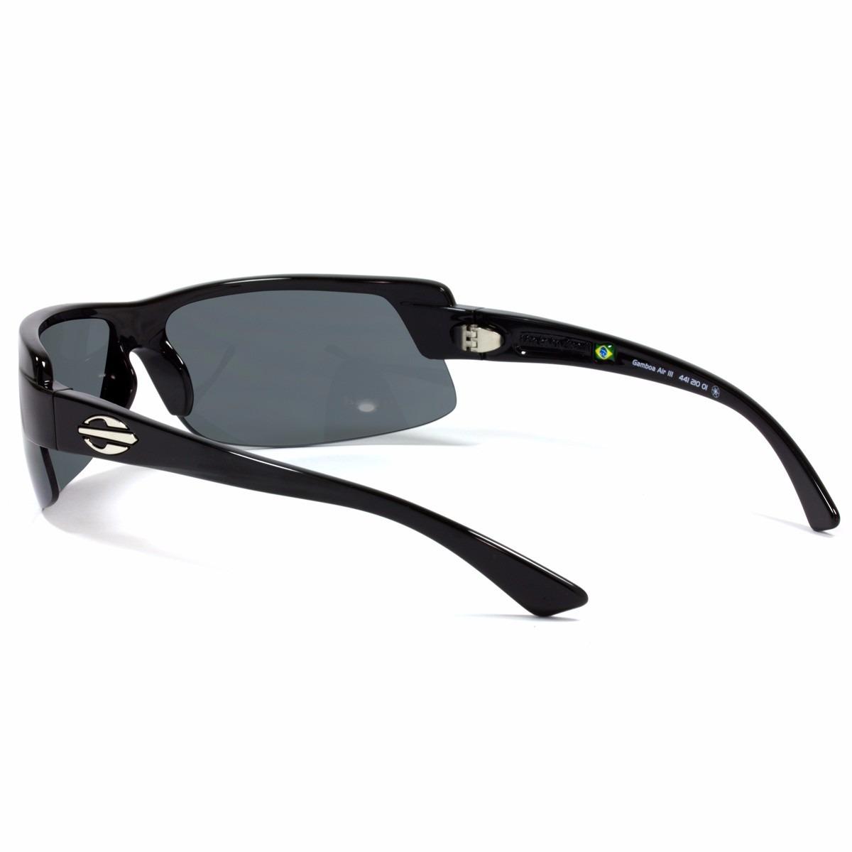 oculos sol mormaii gamboa air 3 esportivo preto brilhante. Carregando zoom. d1563781ef
