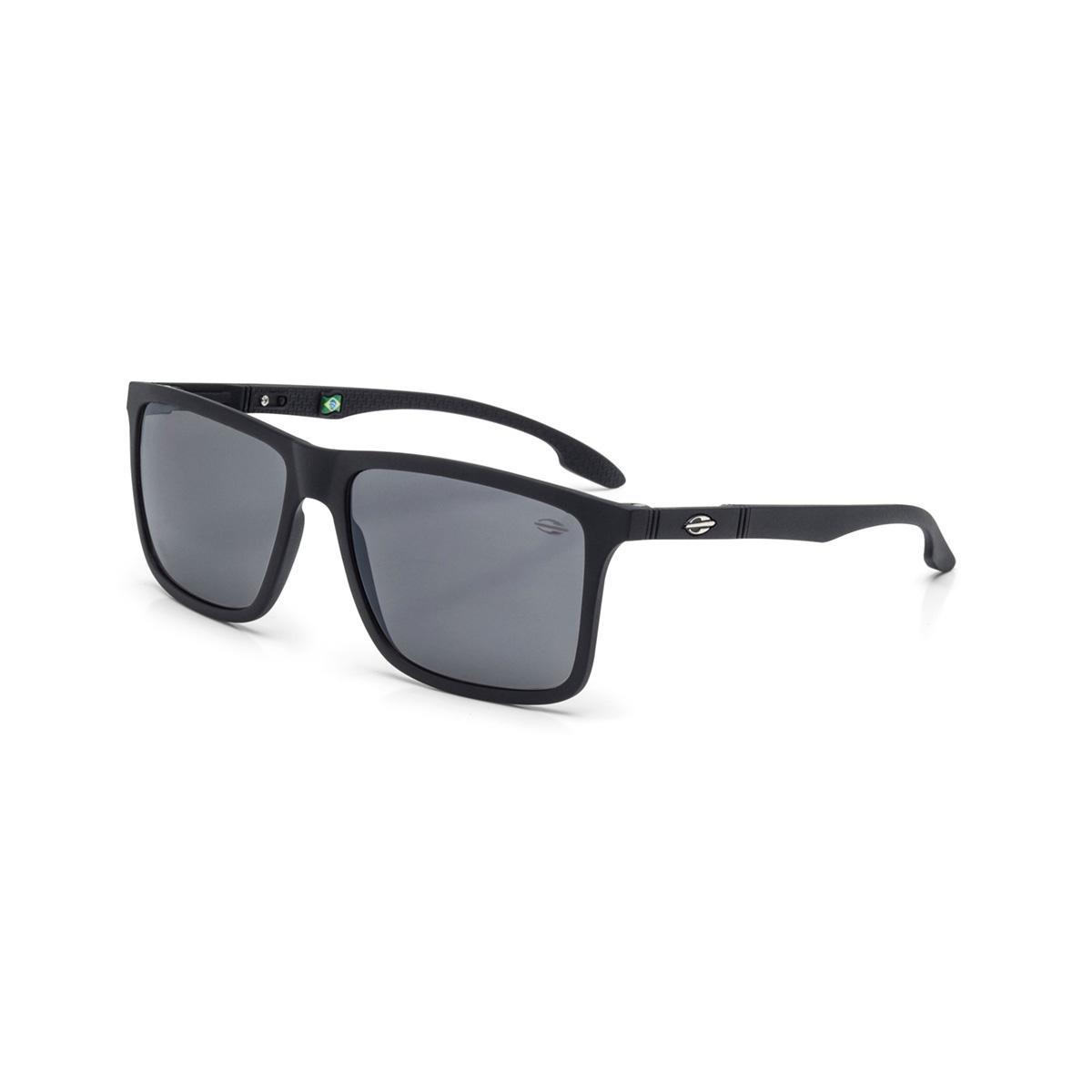 ec3ad2bf2 Oculos Sol Mormaii Kona Preto Fosco L Cinza Fl Prata - R$ 335,00 em ...