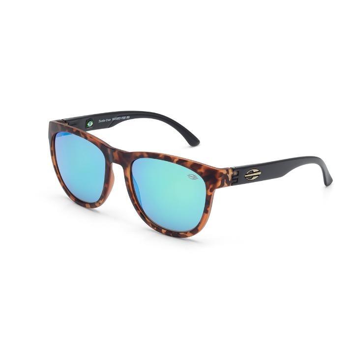 Oculos Sol Mormaii Santa Cruz Demi Marrom Fosco Com Preto - R  205 ... 51af4b2d8a