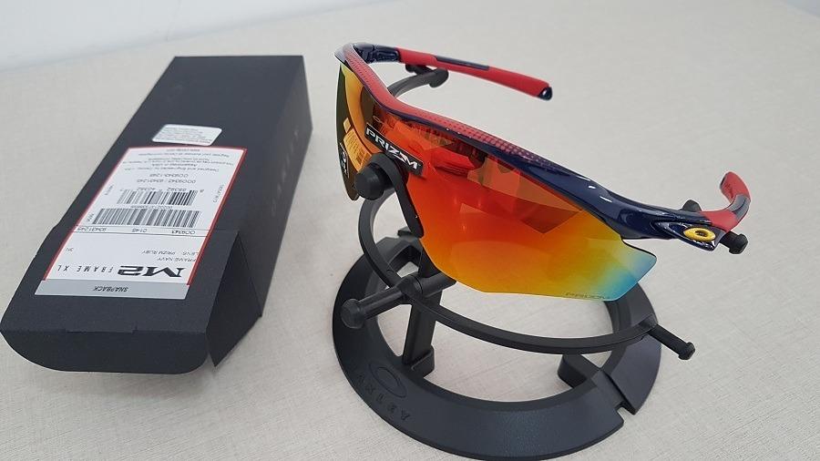 43cad6ac40 Carregando zoom... sol oakley óculos. Carregando zoom... óculos de sol oakley  m2 frame xl navy prizm ruby oo9343 12