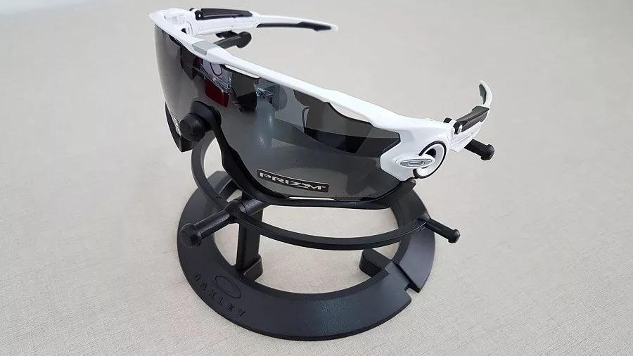 3f449872ee Carregando zoom... sol oakley oculos. Carregando zoom... oculos sol oakley  jawbreaker 9290 29 preta espelhada prizm