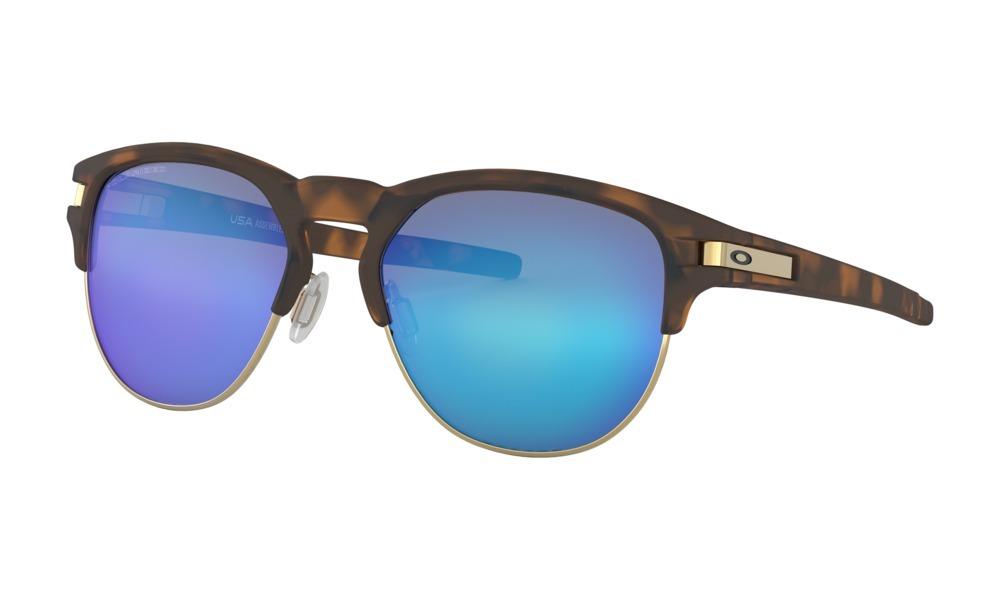 3c84c4642 Óculos De Sol Oakley Latch Key Marrom Sapphire Polarizado - R$ 593 ...