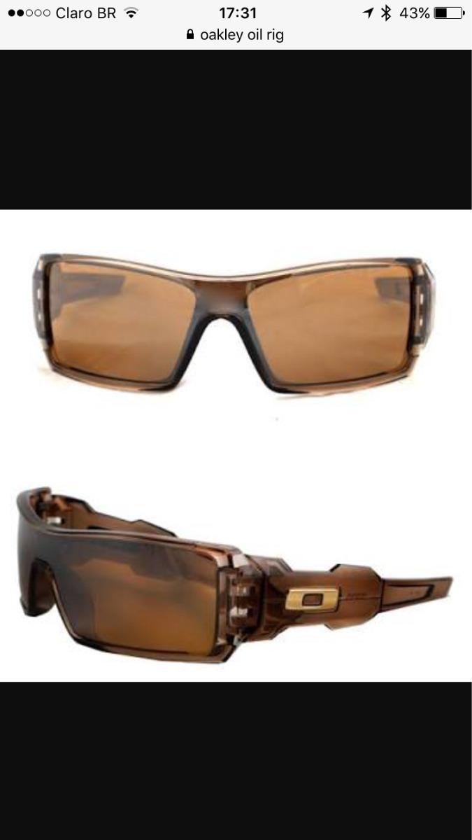 Óculos De Sol Oakley Oil Rig 12-984 Bronze Original - R  140,00 em ... 522a22b85c