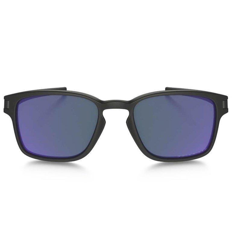 1fc5a55051 Carregando zoom... sol oakley óculos. Carregando zoom... óculos de sol oakley  latch squared matte black violet iridiu