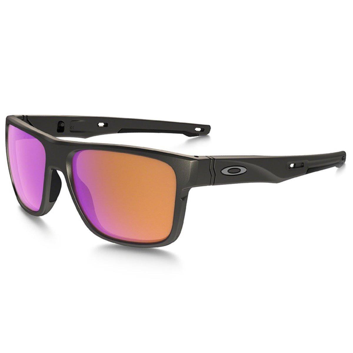 7b81c705dc847 Óculos Sol Oakley Crossrange Steel Prizm Trail Polarizado - R  599 ...