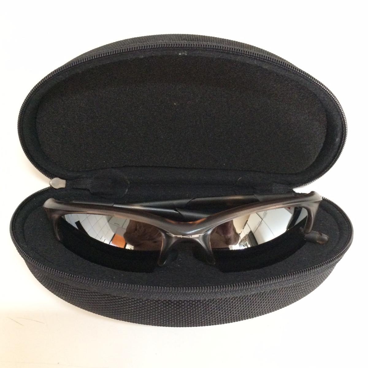6e25f1a39e9ec óculos sol oakley flak jacket xlj genuíno polarizado marrom. Carregando zoom .