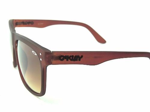 27717c1283b18 óculos masculino de sol oakley frogskins marrom frete grátis · óculos sol  oakley frogskins
