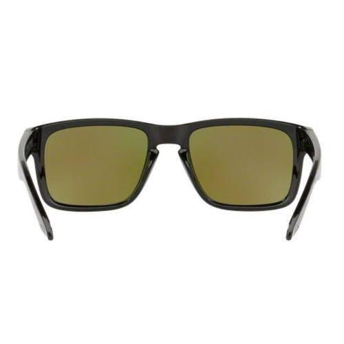 9a1c890549 Oculos Sol Oakley Holbrook 9102 F555 Preto Brilho Lente Azul - R ...