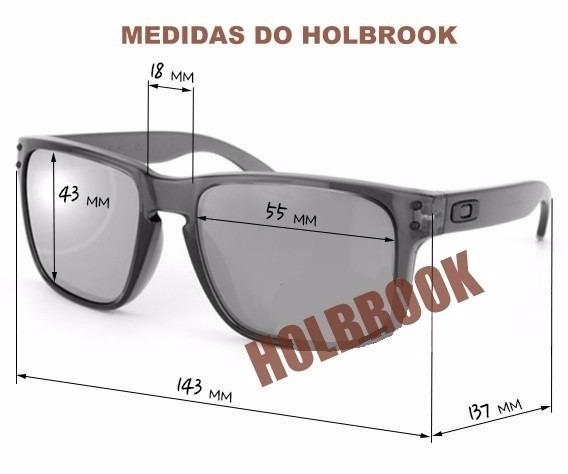 d7407ec830510 Óculos Sol Oakley Holbrook Preto Masculino 100% Polarizado - R  69 ...