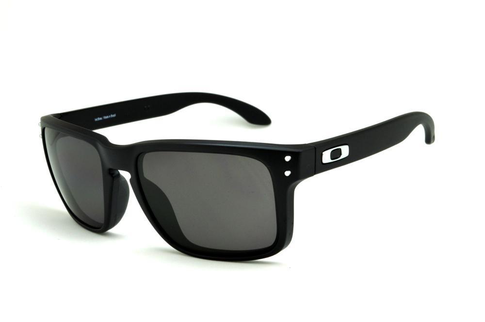 2347d2b44626e óculos sol oakley holbrook preto masculino 100% polarizado. Carregando zoom.