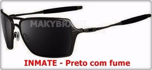b7c8abc402cd5 Óculos De Sol Oakley Inmate Metal Polarizado Livro De Eli - R  152 ...