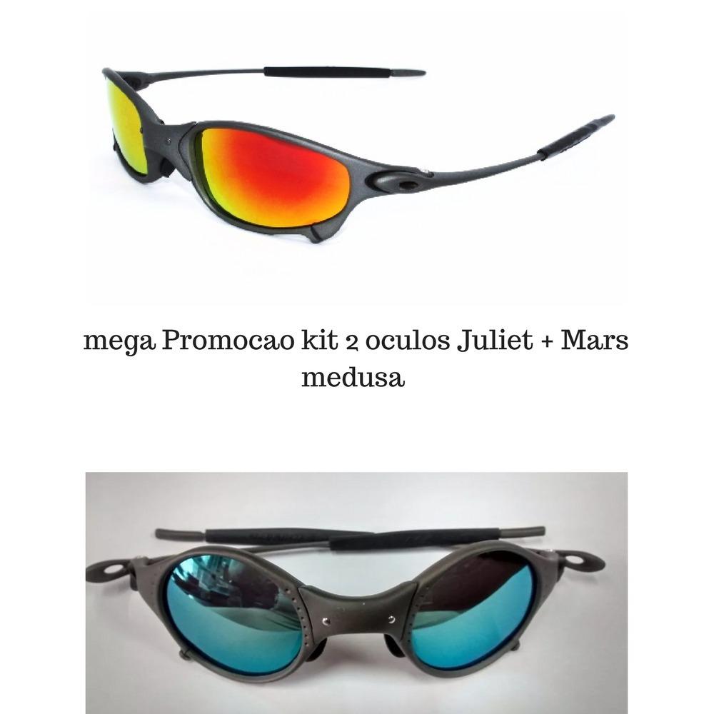 Oculos De Sol Oakley Juliet + Mars Medusa Promocao Relampago - R ... c93005a89b