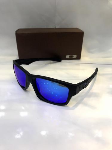 85ac8e356 Óculos Sol Oakley Jupiter Masculino Azul Polarizado + Frete - R$ 120 ...
