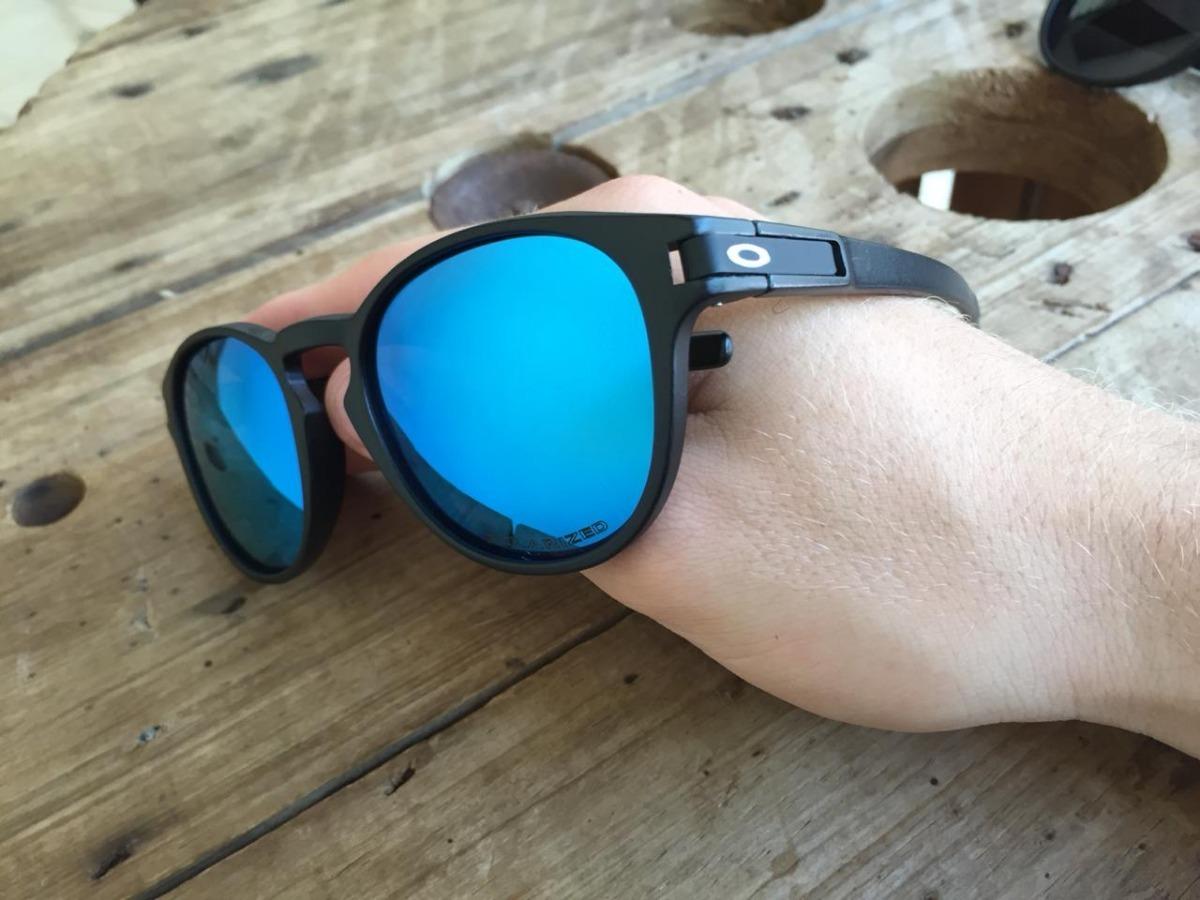 5dc6835a6 Óculos Sol Oakley Latch Polarizados Diversas Cores Unissex - R$ 120 ...
