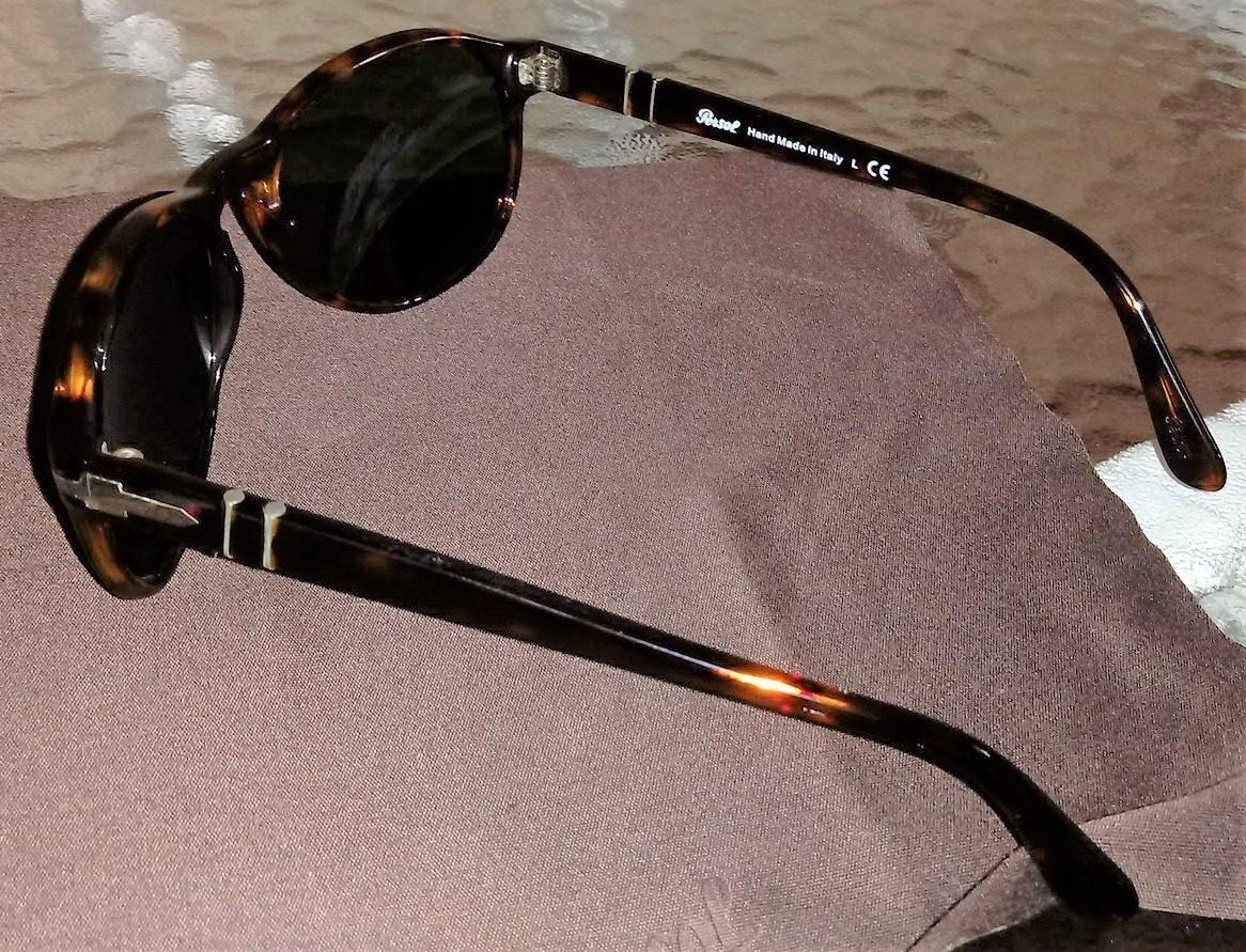 265bcd80b9 Óculos Sol - Persol 2931s 24 31 - Tartaruga - Completo - R  500