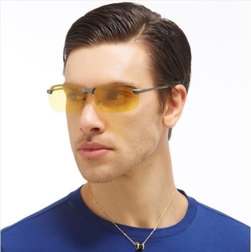 c0de8efc524bd Óculos Sol Pesca Dirigir À Noite Polarizado Âmbar Uv400 - R  120