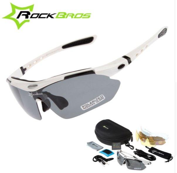 2a79133e3e888 Óculos Sol Polarizado 5 Lentes Bike Brinde Lanterna Bandana - R  124 ...