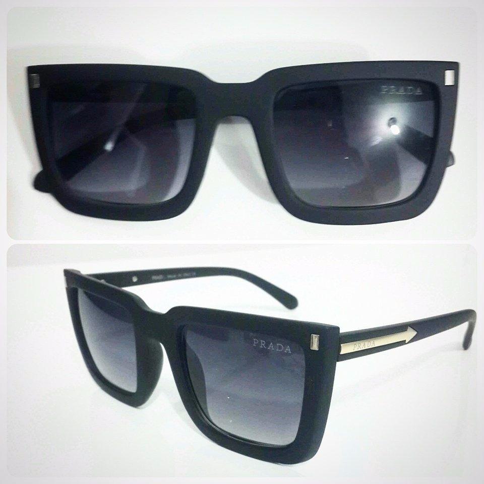 Oculos De Sol Prada Luxo Original Quadrado Feminino Oferta - R  82 ... bcdf0d2475